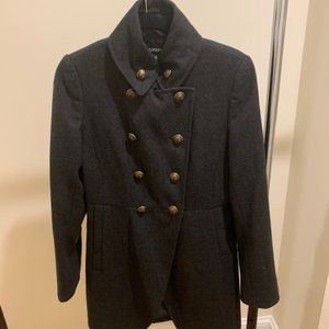 DKNY Military Double-Breasted Sailor Coat